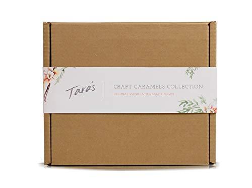 - Tara's All Natural Handcrafted Gourmet Craft Caramel Collection: Original Vanilla, Sea Salt, and Pecan