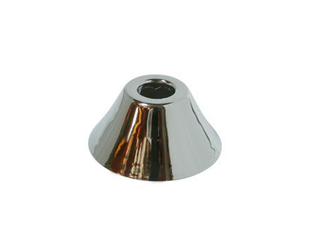 Decorative Bell Flange (Kingston Brass FLBELL581 Nuvofusion 5/8-Inch OD Bell Flange, Polished Chrome)