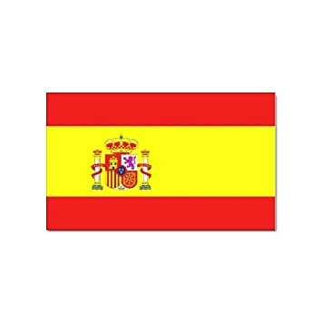 Spain flag sticker