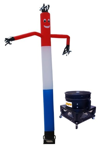Air Dancer USA Red White and Blue Sky Dancer Inflatable Dancing Tube Man