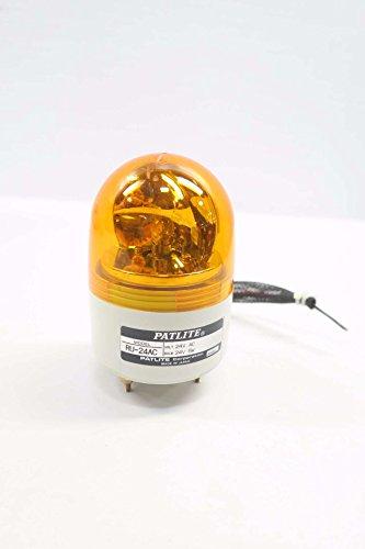 PATLITE RU-24AC Amber REVOLVING Warning Light 24V-AC D578744 ()