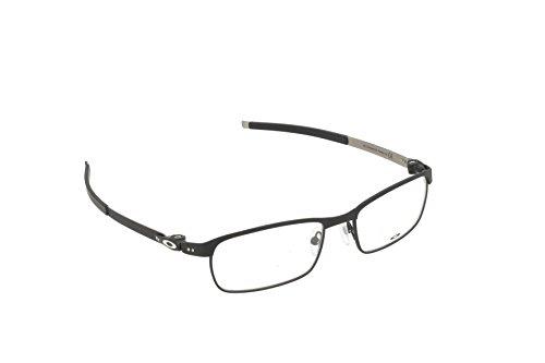 Oakley - TINCUP OX 3184, Geometric, steel, men, BLACK(3184-01), - Oakley Define