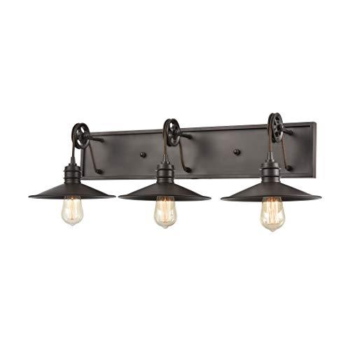 Elk Lighting 69086/3 Vanity Light Oil Rubbed Bronze ()