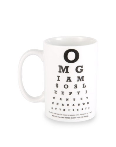 Wild Eye Designs Coffee Mug Eye Chart (Chart Autumn)