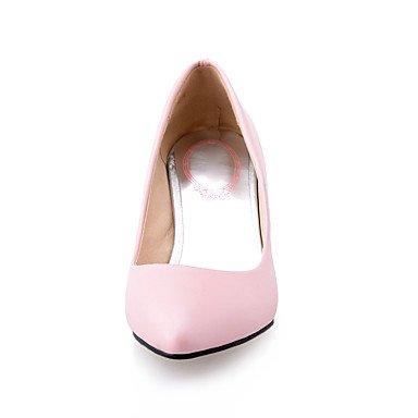 Le donne sexy elegante sandali donna tacchi Primavera Estate Autunno Inverno altri PU Office & Carriera Party & abito da sera Stiletto Heel Rosa Blu Beige rosso , rosa , noi6.5-7 / EU37 / uk4,5-5 / CN