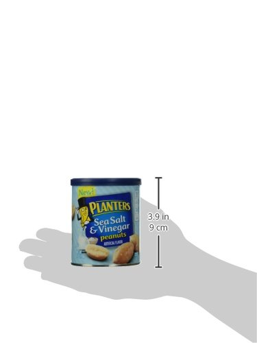 Planters Flavored Peanuts, Sea Salt and Vinegar, 6 Ounce