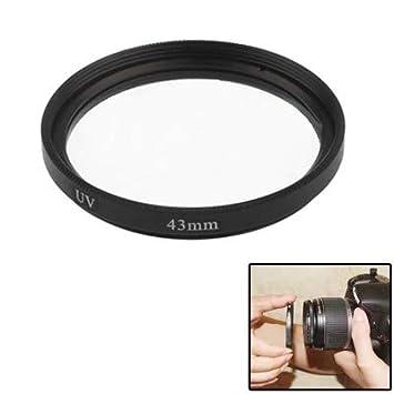 Songlin@yuan Conveniencia Durable 43mm cámara réflex de Filtro UV ...
