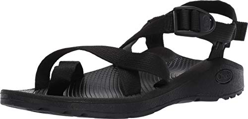 Chaco Women's Zcloud 2 Sport Sandal, Solid Black, 10 W US (Loop Chaco Toe Sandals)