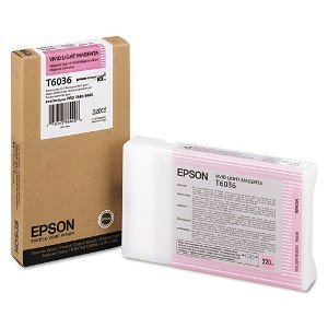 Epson T603600 Stylus Pro 7880 9880 UltraChrome K3 Vivid Light Magenta Ink (220 ml)
