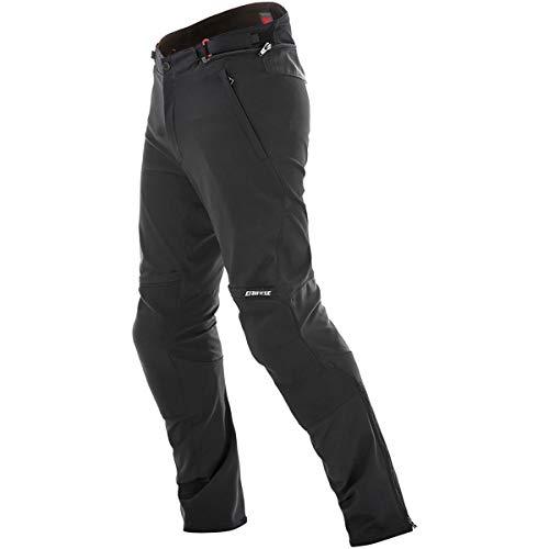 (Dainese New Drake Air Tex Men's Street Motorcycle Pants - Black / 52)