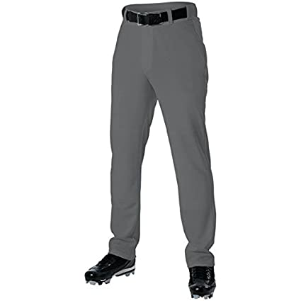 0e7fb0f4bfb Amazon.com   Alleson 605WLPY Youth Baseball Pant - Charcoal   Sports ...