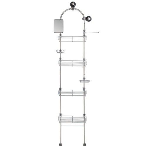 Interdesign Forma Bathroom Floor Standing Shower Caddy