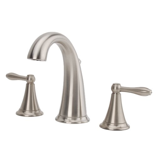 Faucet Tub Bathroom Fontaine - Fontaine Montbeliard 2-handle Widespread Bathroom Faucet in Brushed Nickel