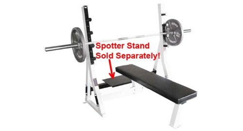 Commercial Flat Bench (Spotter Stand and Weights not included)