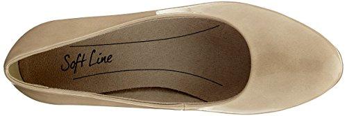 dune Softline Mujer Zapatos Patent 22360 Beige Para De Tacn rqgx7rw0