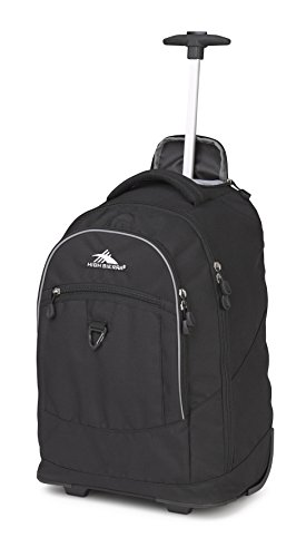 Access Rolling Backpack (High Sierra Chaser Wheeled Laptop Backpack Backpack Black One Size)