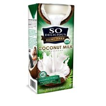 So Delicious Unsweetened Coconut Milk 48x 32 Oz by SO DELICIOUS
