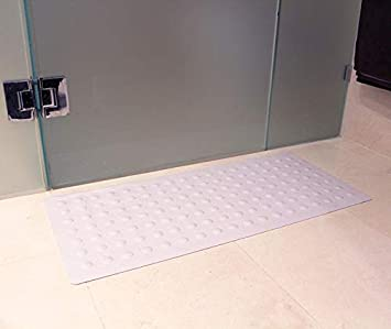 Bambury Rubber Bath Mat Shower Bath Mat Blue Bath Mats Amazon