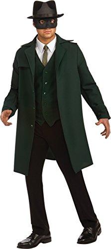 [UHC Men's Deluxe Green Hornet Movie Characters Party Fancy Costume, Standard (up to 44)] (Green Hornet Costume Men)