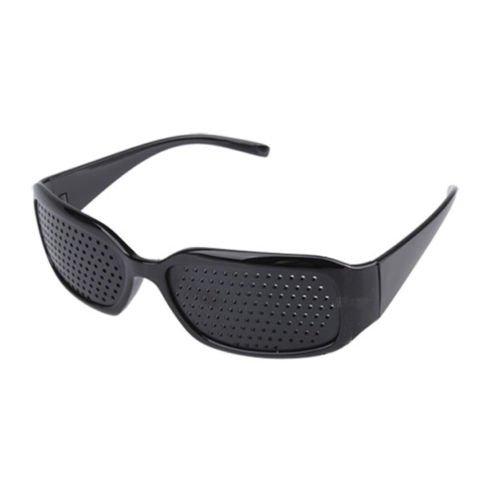 FreshGadgetz Rouge Unisex soin de la vue améliore sténopé yeux lunettes exercé lunettes Noir