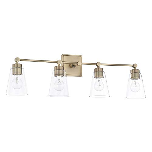 Capital Lighting 121841AD-432 Four Light Vanity