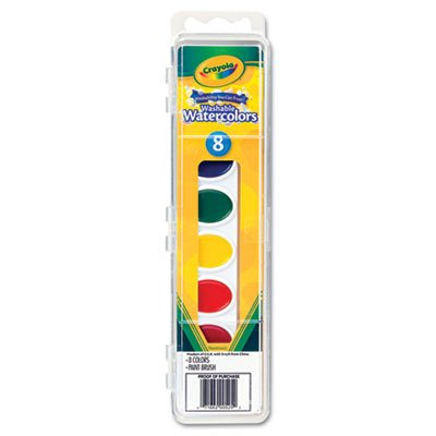 Crayola Watercolor Paints Washable Primary