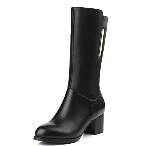 Nine SevenMid-calf Boots - Botas mujer negro