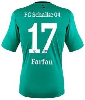 adidas - FC Schalke 04, terza maglia 2014 di Farfan: Amazon.it ...