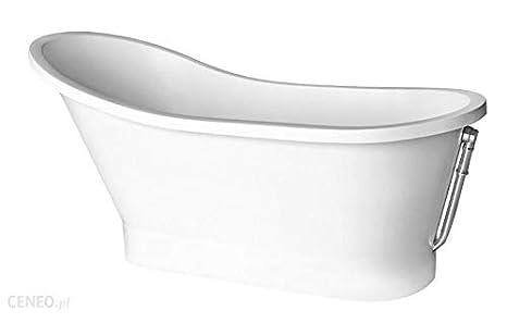 Vasca Da Bagno Ghisa Prezzi : Freestanding vasca da bagno in ghisa minerale 150 x 66 x 75 cm