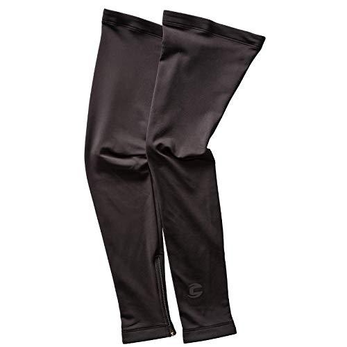 Cannondale Men's Leg Warmers, Black, Large
