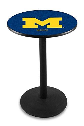 Holland Bar Stool L214B University Michigan Officially Licensed Pub Table, 28