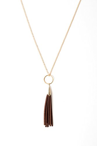 Urban Legacy Brown Leather tassel product image