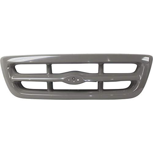 Grille for Ford Ranger 98-00 Black Splash/(XL/XLT -2WD) Models