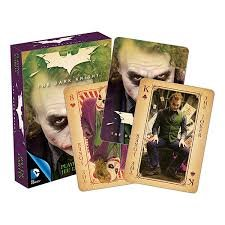 The Dark Knight ( Heath Ledger) Playing Cards by Aqaurius Dark Knight Joker Card