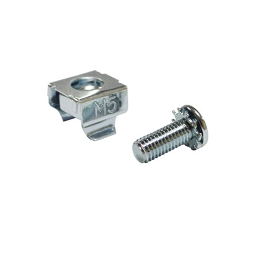 Akust M5 Server Rack Mounting Screw with Cage Nut 15 Sets by Akust