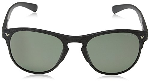 Semi matt Frame Lunette Green 1 Game Lens Police Black de 1 Grey Game Ronde soleil 8BpxzPF