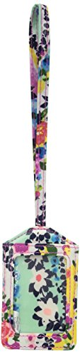 Vera Bradley Iconic Luggage Tag-Signature, Wildflower Pais
