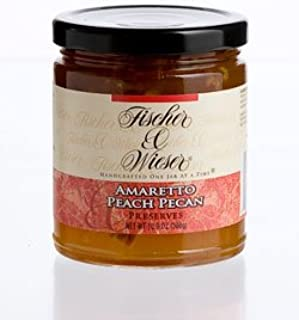product image for Amaretto Peach Pecan Preserves, 10.9 Oz (Pack of 1)