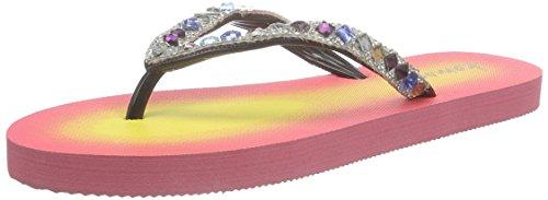 kamoa Psulani - Sandalias de dedo Mujer Rosa - rosa