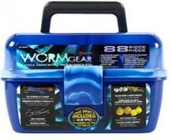 Worm Gear 88pc Tackle Box by Worm Gear