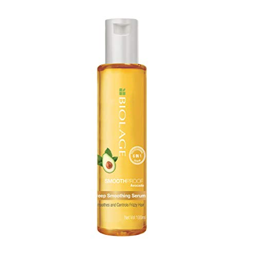 BIOLAGE Smoothproof Deep Smoothing 6-in-1 Serum   Paraben free Controls frizz, Smoothens rough ends and adds instant…