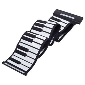 Portable 88 Keys Standard MIDI Soft Silicone Flexible Roll Up Electronic Piano Keyboard For Kids Adult China OEM MD88
