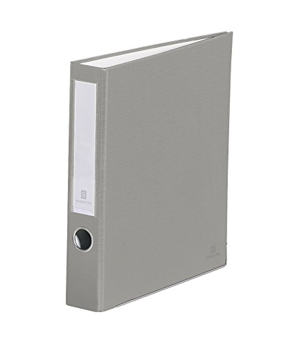 Bindertek 3-Ring 2-Inch Premium Binders, Light Gray