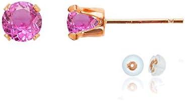 Sterling Genuine Gemstone Birthstone Earrings product image