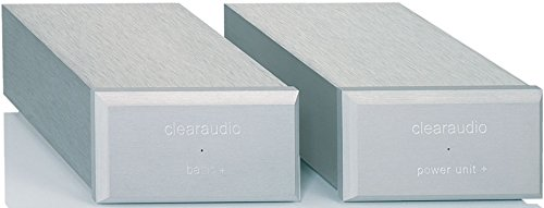 Clearaudio Basic Plus MM/MC Dual-Chassis High-Performance Phono Preamp, Silver Basic+ by Clearaudio