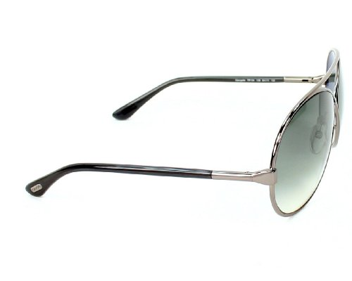 Grey Femme soleil Tom gradient Grey 0154 Gunmetal Pour de Grey Georgette Ford Lunettes 12B Gunmetal SAnqAv0