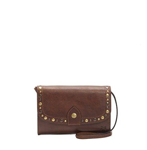 Stud Clutch Bag Crossbody FRYE Cognac Melissa Leather Wallet 5AwZIn6H
