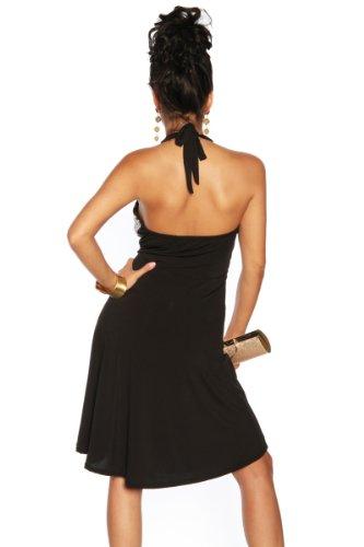 Ravissante robe dos-nu avec paillettes taille unique :  s-l 36–40