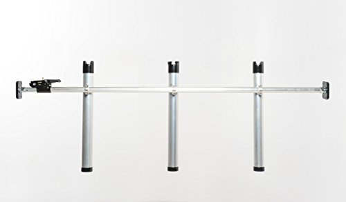 Portarod Inshore 3-Rod Holder Fishing Rod Holder / Transporter for Truck Bed by Portarod