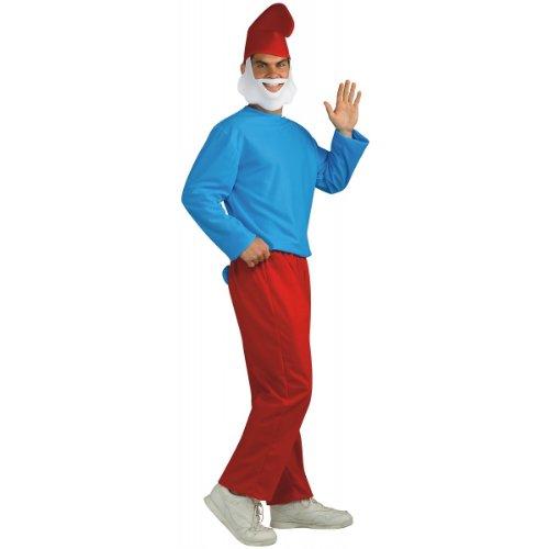 Rubies Costume Smurfs Adult Papa